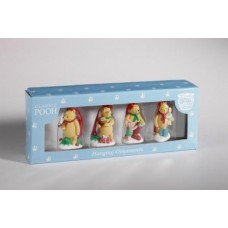 Classic Pooh Hanging Ornaments (set of 4 )