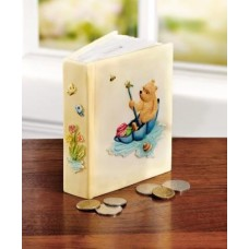 Pooh in Umbrella Money Bank
